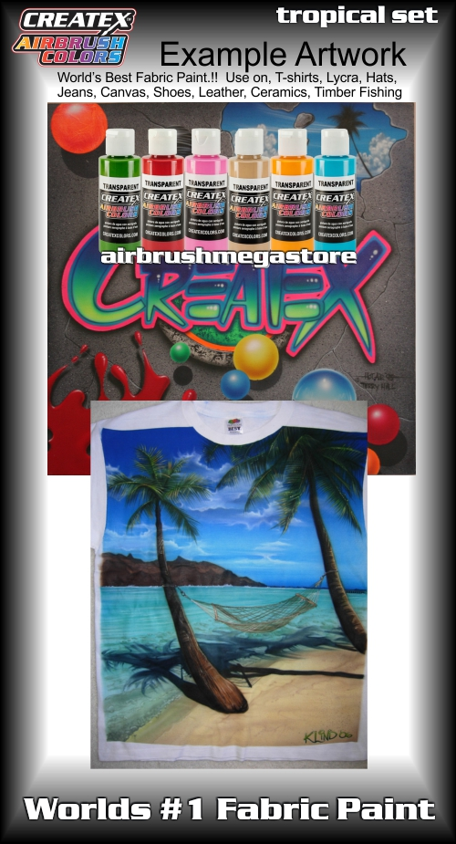 createx colors 5810 00 tropical set 2