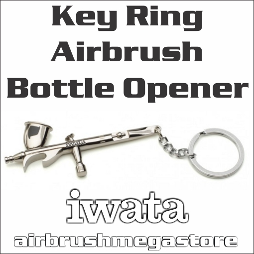Iwata Airbrush Key Ring Novelty