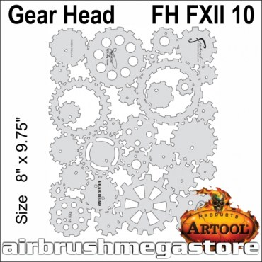 Artool  FH FX 11 10 Gear Head
