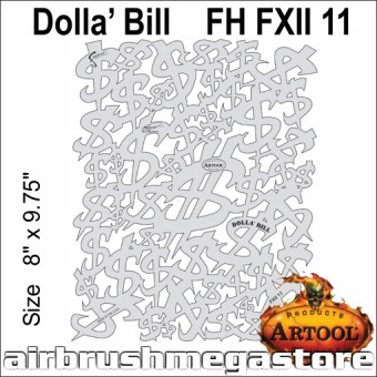 Artool FH FX 11 11 Dolla Bill
