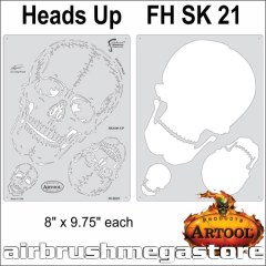 Artool Horror Of Skullmaster Heads Up