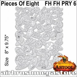 Artool Piracy FH PRY 6 Pieces Of Eight