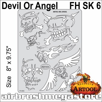 Artool Son Of Skullmaster FH SK 6 Devil  Angel
