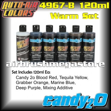Auto-Air Colors Candy 2o Warm Set  4967-B