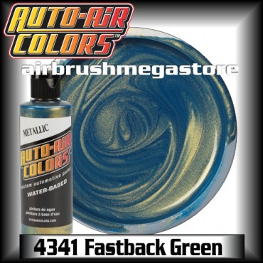 Auto-Air Colors Metallic 4341 Fastback Green