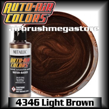 Auto-Air Colors Metallic 4346 Light Brown