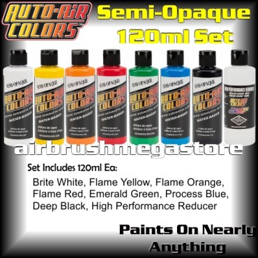 Auto-Air Colors Semi Opaque Set5