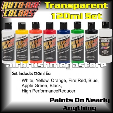 Auto-Air Colors Transparent Set