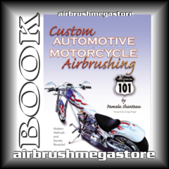 Book Custom Motorcycle  Airbrush 101 Pamela Shanteau