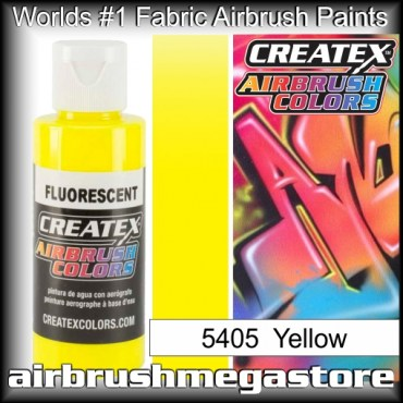 Createx Colors 5405-fluor-yellow airbrush paint