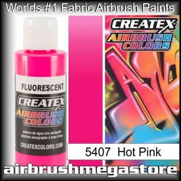 Createx Colors 5407-fluor-hot-pink airbrush paint