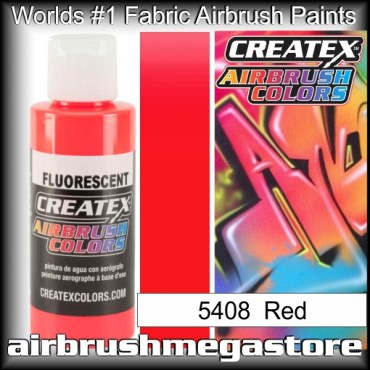 Createx Colors 5408-fluor-red airbrush paint