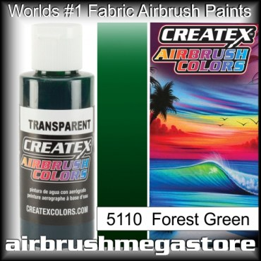 Createx Colors Transparent 5110 Forest Green,Airbrush