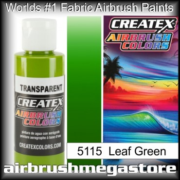 Createx Colors Transparent 5115 Leaf Green,Airbrush