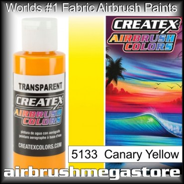 Createx Colors Transparent 5133 Canary Yellow,Airbrush