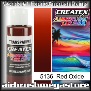 Createx Colors Transparent 5136 Red Oxide,Airbrush