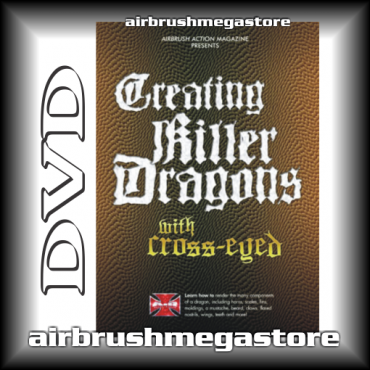 Dvd Creating Killer Dragons Cross-Eyed