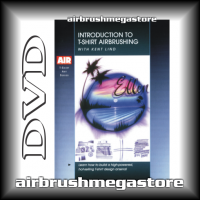 Dvd Introduction To T-Shirt Airbrushing Kent Lind