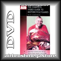 Dvd The Complete Guide To Motor Cycle Flames Steve Vandemon