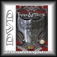 Dvd Tribal & Metal Airbrush FX Terry Stephens