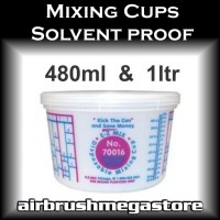 Ezy Mix Mixing Cups Airbrush Megastore