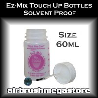 Ezy Mix Touch Up Bottles Airbrush Megastore