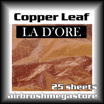 La Dore Composition Copper Leaf