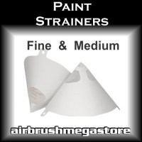 Paper Paint Strainers Airbrush Megastore