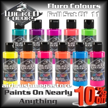 Wicked Colors Fluro Full Set