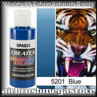 createx colors 5201-opaque-blue airbrush paint