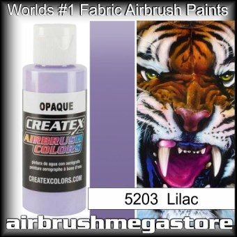 createx colors 5203-opaque-lilac airbrush paint
