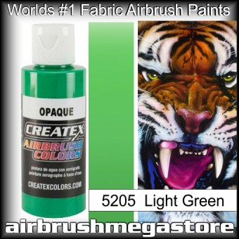 createx colors 5205-opaque-light-green airbrush paint