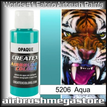 createx colors 5206-opaque-aqua airbrush paint
