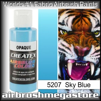 createx colors 5207-opaque-sky-blue airbrush paint