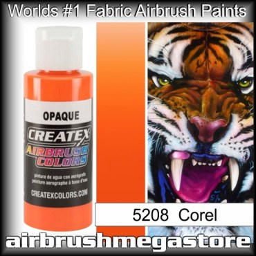 createx colors 5208-opaque-coral airbrush paint