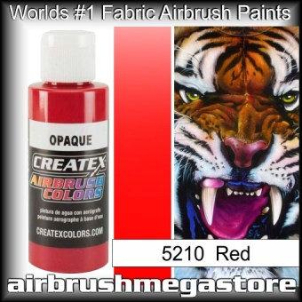 createx colors 5210-opaque-red airbrush paint
