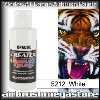 createx colors 5212-opaque-white airbrush paint