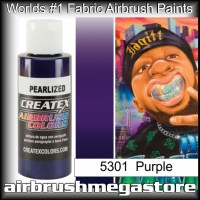 createx colors 5301-pearl-purple airbrush paint