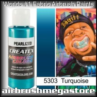 createx colors 5303-pearl-turquoise airbrush paint
