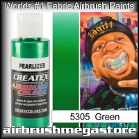 createx colors 5305-pearl-green airbrush paint