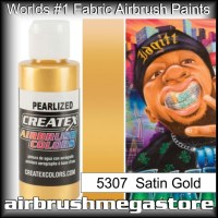 createx colors 5307-pearl-satin-gold airbrush paint