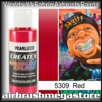 createx colors 5309-pearl-red airbrush paint