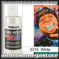 createx colors 5310-pearl-white airbrush paint