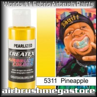 createx colors 5311-pearl-pineapple airbrush paint
