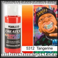 createx colors 5312-pearl-tangerine airbrush paint