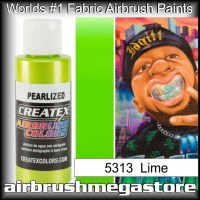 createx colors 5313-pearl-lime airbrush paint