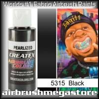 createx colors 5315-pearl-black airbrush paint