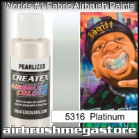 createx colors 5316-pearl-platinum airbrush paint