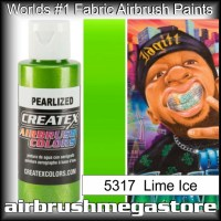 createx colors 5317-pearl-lime-ice airbrush paint