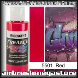 createx colors 5501-irid-red airbrush paint